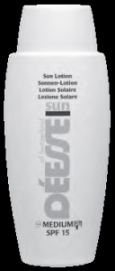 Lotion solaire SPF 15